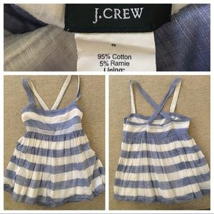 Adorable J Crew too with adjustable straps